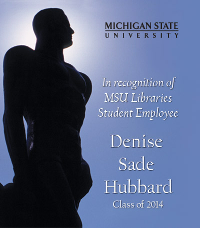 In Recognition of Denise Sade Hubbard