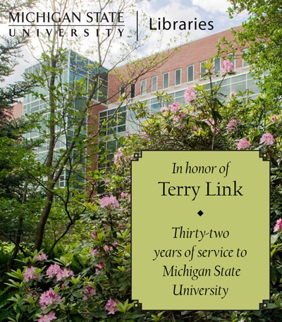 In Recognition of Terry Link