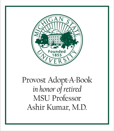 Provost Adopt-A-Book in Honor of Ashir Kumar