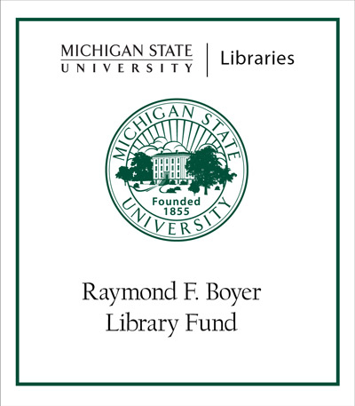 Raymond F. Boyer Library Fund