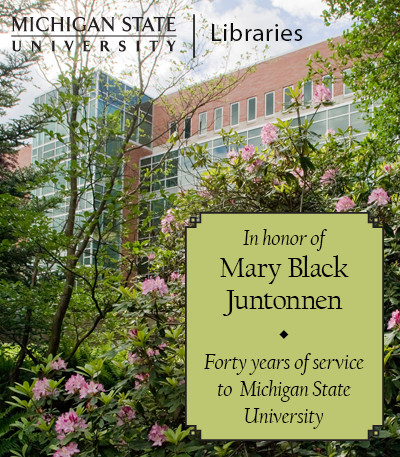 In Recognition of Mary Black Juntonnen
