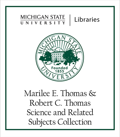 Marilee E. Thomas and Robert C. Thomas Science and Related Subjects Collection