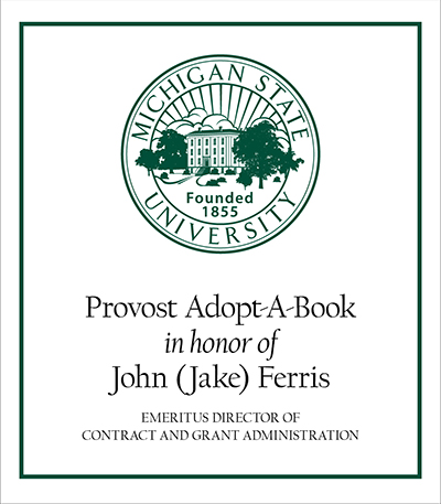 Provost Adopt-A-Book in Honor of John (Jake) Ferris