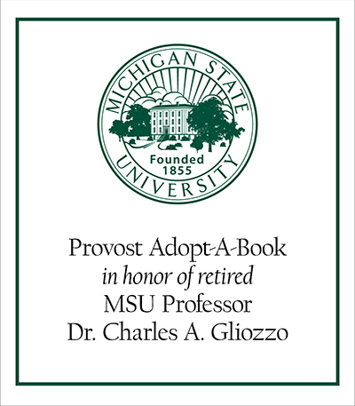 Provost Adopt-A-Book in Honor of Dr. Charles A. Gliozzo