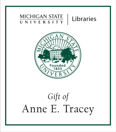 Gift of Anne E. Tracy