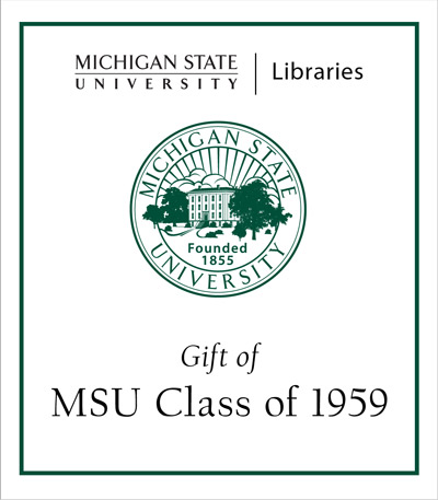 Gift of MSU Class of 1959
