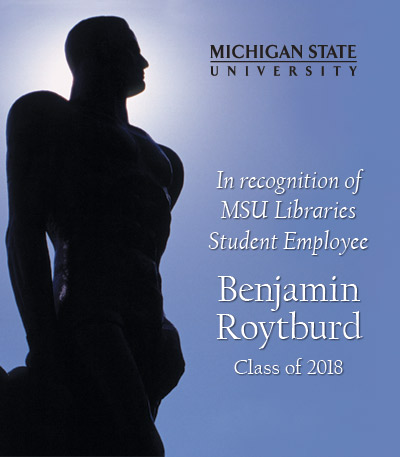 In Recognition of Benjamin Roytburd