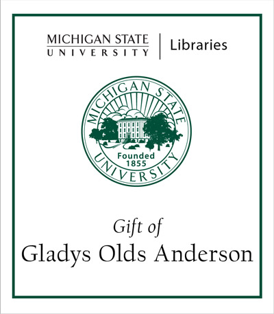 Gift of Gladys Olds Anderson
