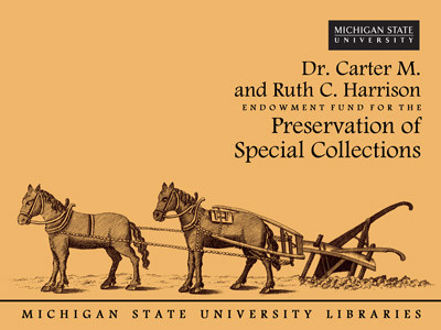 Dr. Carter M. and Ruth C. Harrison Endowment Fund for the Preservation of Special Collections