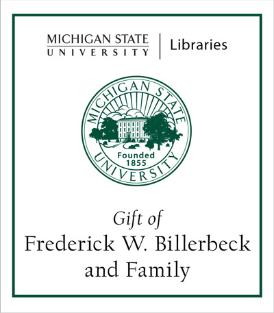 Gift of Frederick W. Billerbeck and Family