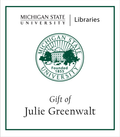 Gift of Julie Greenwalt