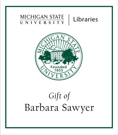 Gift of Barbara Sawyer