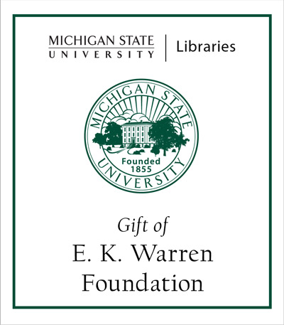 Gift of E.K. Warren Foundation