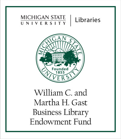 William C. and Martha H. Gast Business Library Endowment Fund