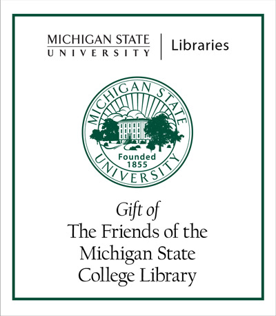 Friends of the Michigan State College Library
