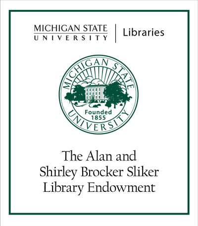 Alan and Shirley Brocker Sliker Library Endowment