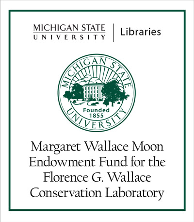 Margaret Wallace Moon Endowment Fund for the Florence G. Wallace Conservation Laboratory
