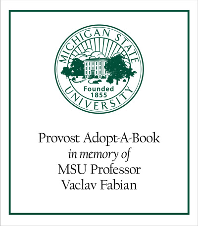 Provost Adopt-A-Book in Memory of Vaclav Fabian