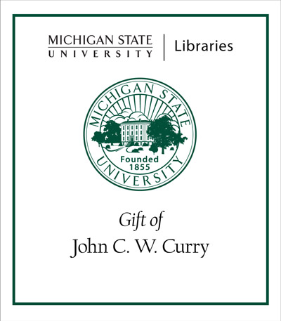Gift of John C. W. Curry