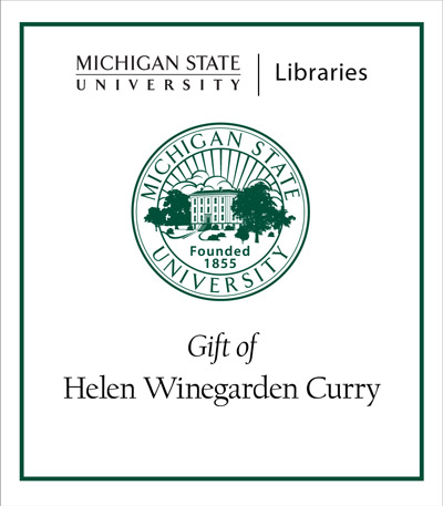 Gift of Helen Winegarden Curry