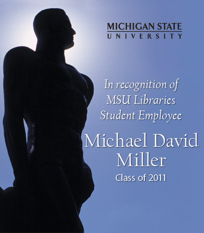 In Recognition of Michael D. Miller