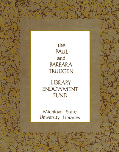 Paul and Barbara Trudgen Library Endowment Fund