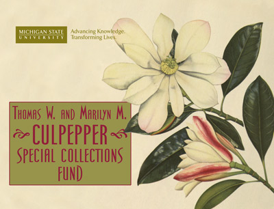 Thomas W. and Marilyn E. Culpepper Special Collections Fund