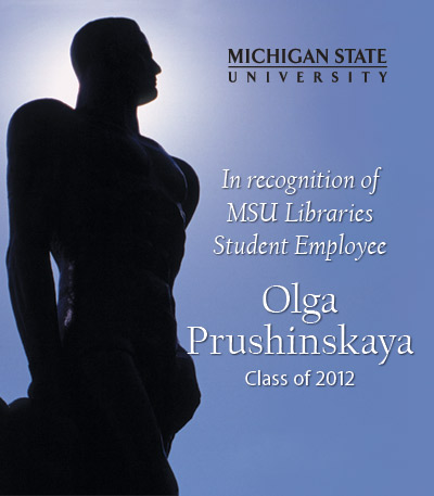 In Recognition of Olga Prushinskaya