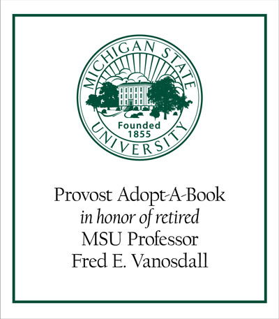 Provost Adopt-A-Book in Honor of Fred E. Vanosdall