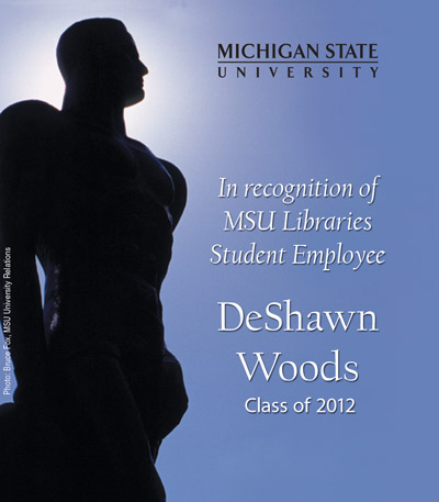 In Recognition of DeShawn Woods