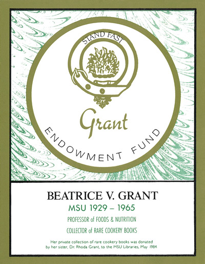 Beatrice V. Grant Endowment Fund