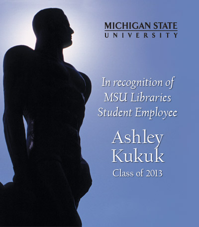 In Recognition of Ashley Kukuk