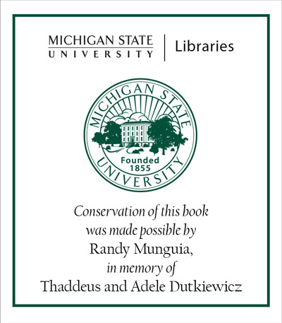 Adopt-A-Book in Memory of Thaddeus and Adele Dutkiewicz
