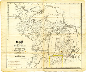 Scanned Maps Of North America Map Library MSU Libraries - Map of us in 1823