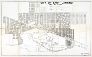 East Lansing and MSC, 1926