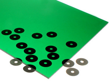 transparent green acrylic for laser cutting