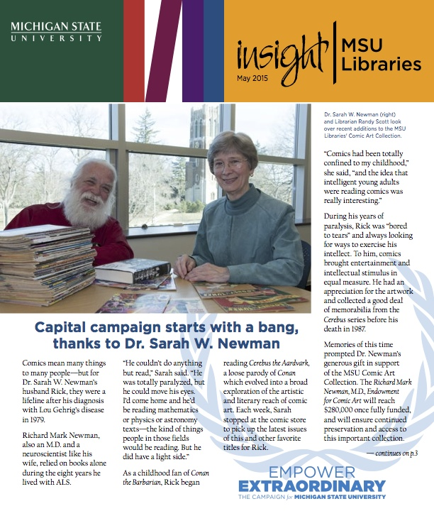 Cover of May 2015 issue of Insight newsletter
