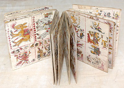 MSU Libraries' facsimile copy of the Codex Borgia.