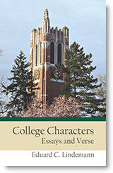 College Characters book cover