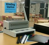 Comb Binding Self Serve Station