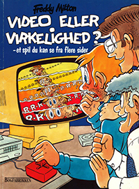 Cover from a Danish comic