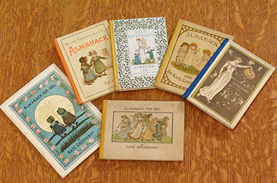 Kate Greenaway Almanacks from the 1890s