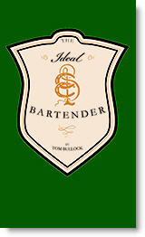 Ideal Bartender - book cover