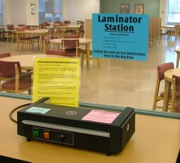 Lamination Self Serve Station