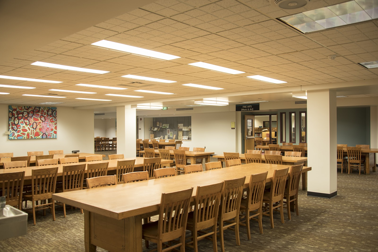 Music Library Lobby Seating