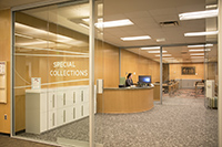 MSU Libraries Special Collection's Reading Room