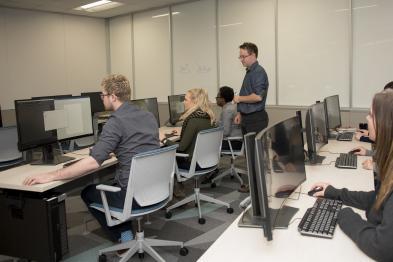 Digital Scholarship Lab Classroom