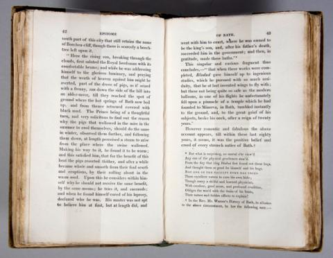 Book: Egan, Pierce.  Walks Through Bath, Describing Everything Worth of Interest.... 1819