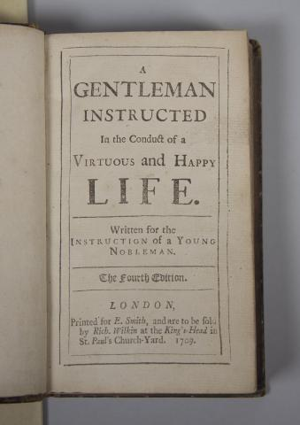 Gentleman Instructed, title page - link to text in description