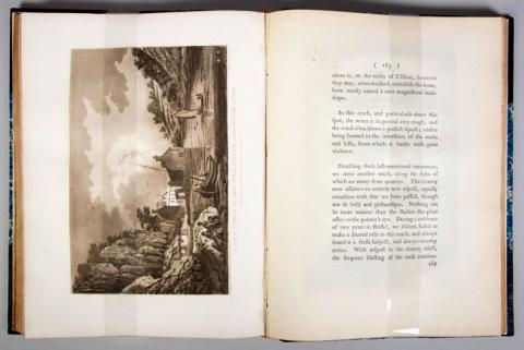 Book: Ibbetson, Julius.  Picturesque Guide to Bath, Bristol Hot-Wells, the River Avon, and the Adjacent Country....  1793